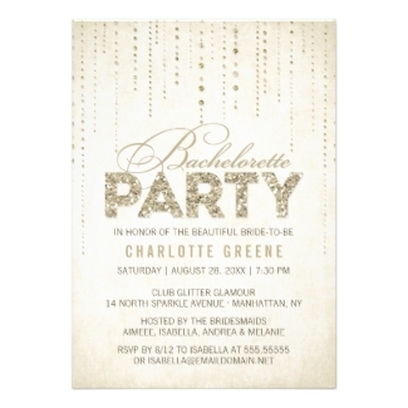 Personalized Party Invitations Announcements Party Invitations – Vegas Bachelorette Party Invitations