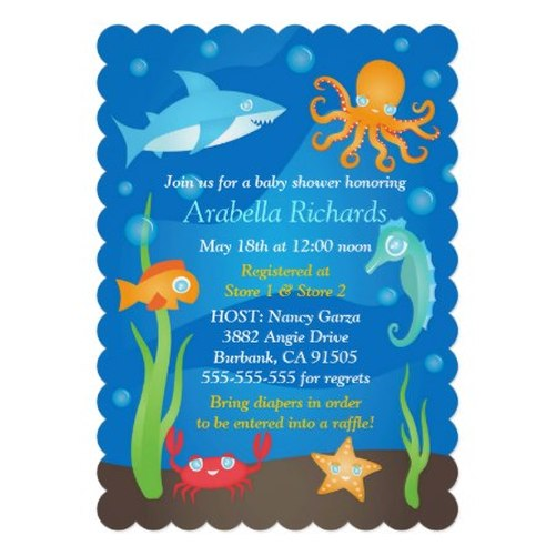 finding nemo baby shower invitations personalized party invitations