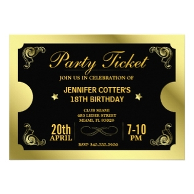 Personalized Party Invitations Announcements Party Invitations - Unique birthday invitations for adults
