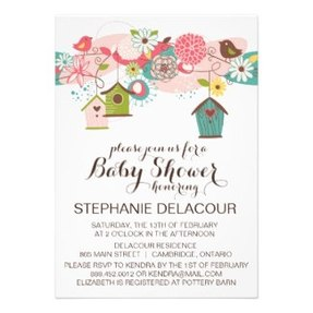 Personalized party invitations announcements party invitations spring baby shower invitations filmwisefo Image collections