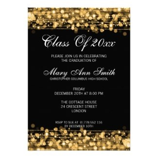Elegant Graduation Party invitation