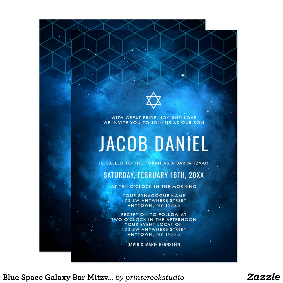 Popular Bar Mitzvah Invitations
