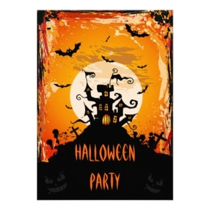 Haunted House Halloween Invitations