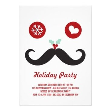 Fun Holiday / Christmas Party Invitations